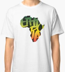 Ethiopia in Africa - Black Classic T-Shirt