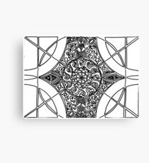 Structures Canvas Print