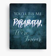 Parabatai - Lady Mindnight Canvas Print