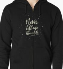 Never Tell Me The Odds (YELLOW) Zipped Hoodie