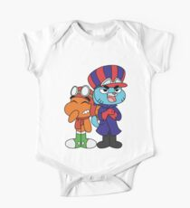 Gumball and Darwin - Wacky Racers One Piece - Short Sleeve