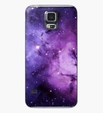 Funda/vinilo para Samsung Galaxy Nebulosa morada