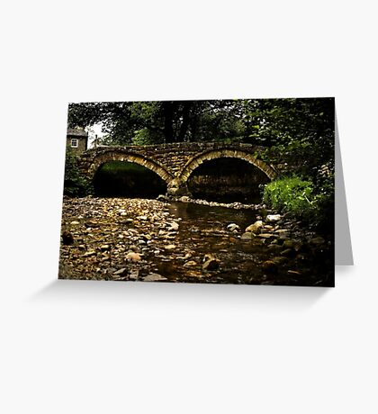 Wycoller Bridge Greeting Card
