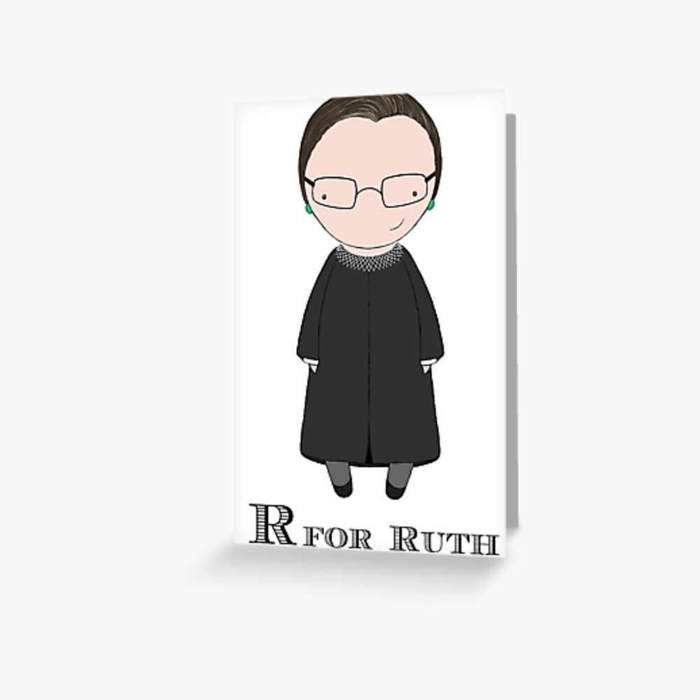 R is for Ruth Greeting Card