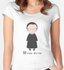 R is for Ruth Women's Fitted Scoop T-Shirt