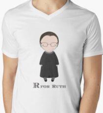 R is for Ruth Men's V-Neck T-Shirt