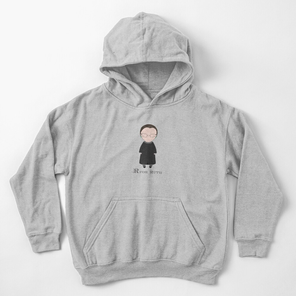 R is for Ruth Kids Pullover Hoodie