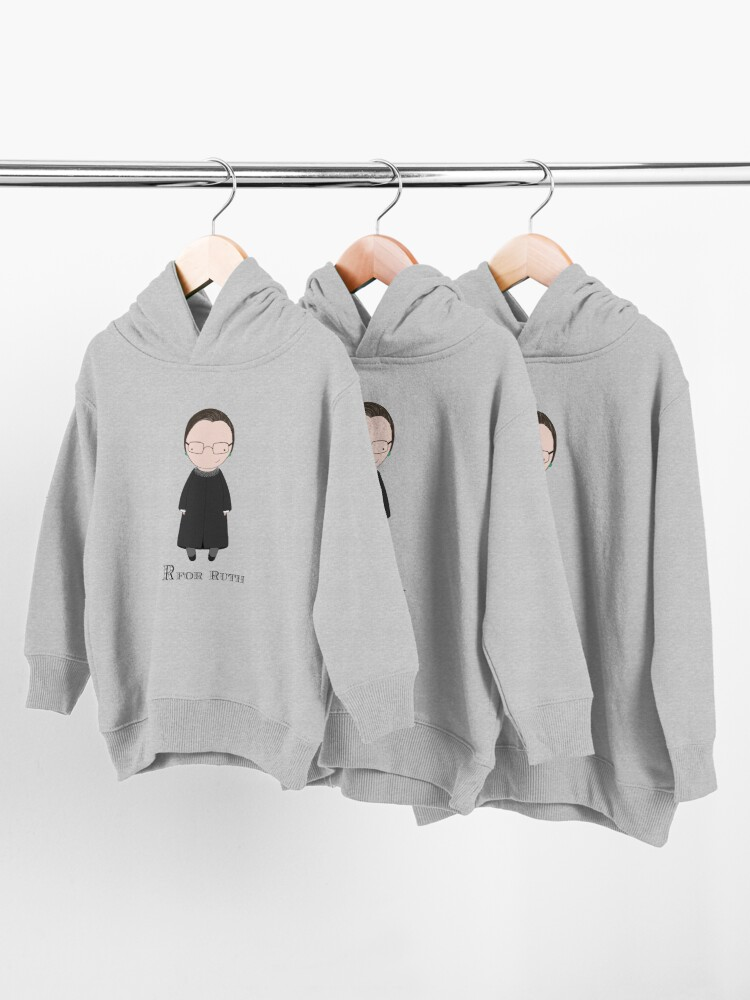Alternate view of R is for Ruth Toddler Pullover Hoodie