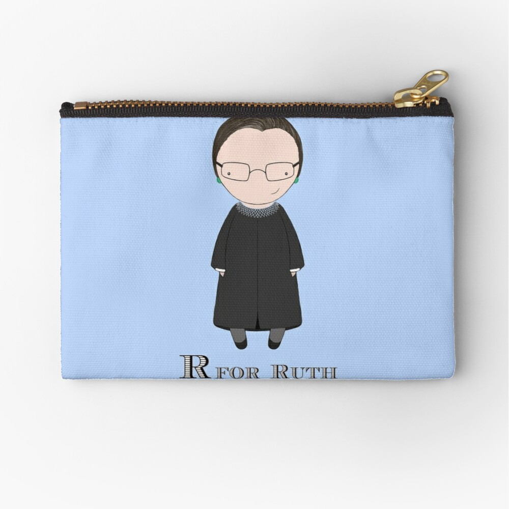 R is for Ruth Zipper Pouch