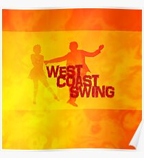 West Coast swing Poster