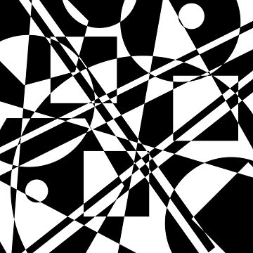 Gestalt Black&White 2 by LeChardonneret