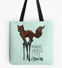 Flounce, the Fox on Stilts (Sky) Tote Bag