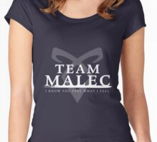 Shadowhunters - Team Malec Women's Fitted Scoop T-Shirt