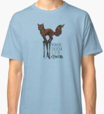 Flounce, the Fox on Stilts (Sky) Classic T-Shirt