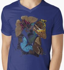FF - Buttefly-1 Men's V-Neck T-Shirt
