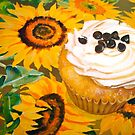 Cupcakes and Sunflowers... by ©Janis Zroback