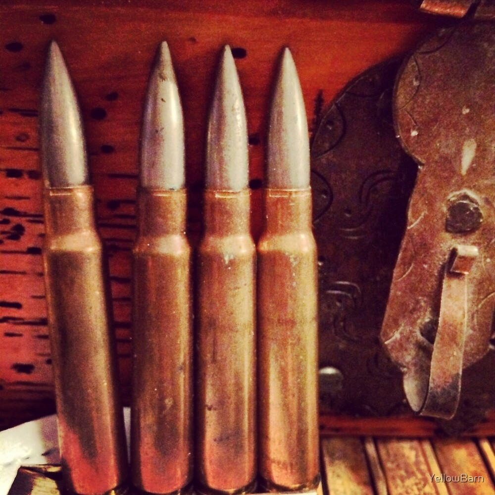 Bullets by YellowBarn