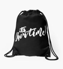 It's Showtime! Drawstring Bag