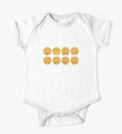 Emoji Building - Waffles Kids Clothes