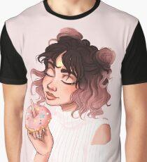 Donut Girl Graphic T-Shirt