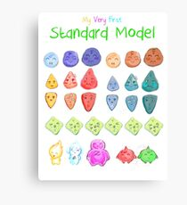 My very first standard model Canvas Print