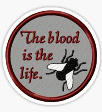 The Blood is the Life Sticker