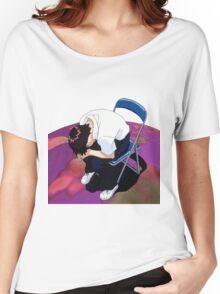 Shinji Neon genesis evangelion Women's Relaxed Fit T-Shirt