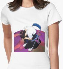 Shinji Neon genesis evangelion Womens Fitted T-Shirt