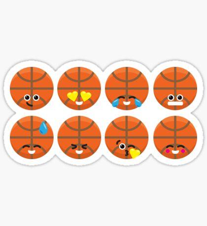 Emoji Building - Basketball Sticker