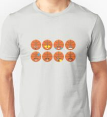 Emoji Building - Basketball Unisex T-Shirt