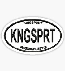 Kingsport Euro Sticker Sticker