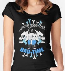 Bad Time Women's Fitted Scoop T-Shirt