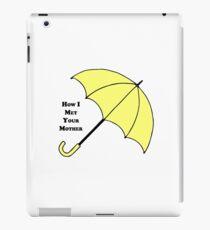 How I Met Your Mother- Yellow Umbrella iPad Case/Skin