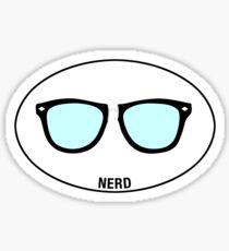 NERD - Euro Sticker Sticker
