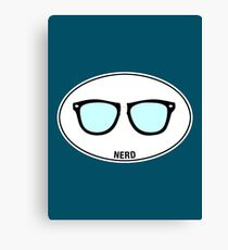 NERD - Euro Sticker Canvas Print