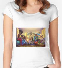 Caribbean Justice Ladies Lounge Women's Fitted Scoop T-Shirt