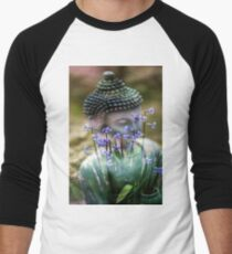Buddha with Flower Asia Blooms T-Shirt