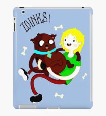 Shaggy Finn And Jake Dog iPad Case/Skin