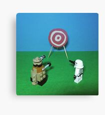 Intergalactic Shoot Off Canvas Print