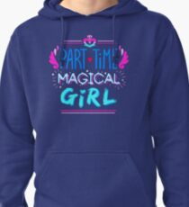 Kingdom Heart Part Time Magical Girl Pullover Hoodie