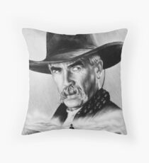 Sam Elliot  Lone Rider Throw Pillow