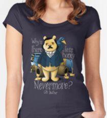 Edgar Allan Pooh Women's Fitted Scoop T-Shirt