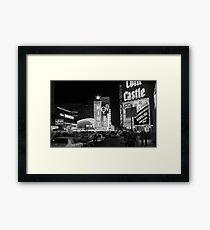 Las Vegas 1980 Framed Print