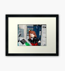 The Impossible Girl Framed Print