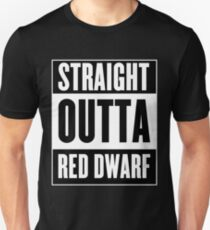 Straight Outta Red Dwarf T-Shirt