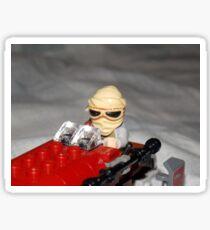 Lego Rey on her Speeder Sticker