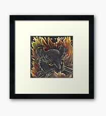 Hell Kitty Framed Print