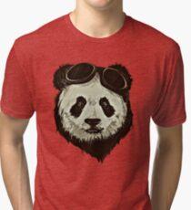 Punk Panda Tri-blend T-Shirt