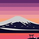 Sonnenuntergang in Japan von John (Ioannis) Sideris
