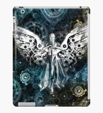 Uhrwerk Engel iPad-Hülle & Skin
